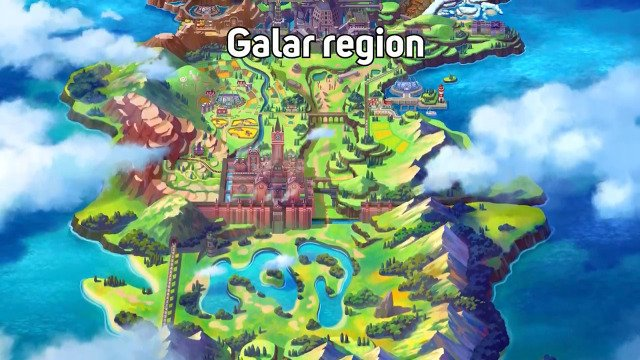 Región Galar - Pokémon Direct
