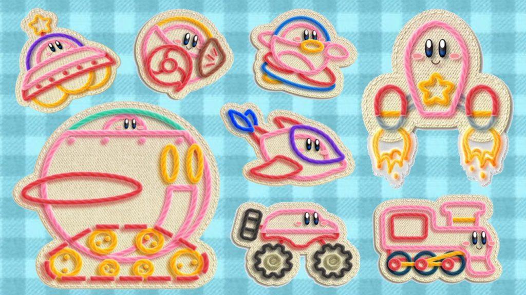 Kirby's Extra Epic Yarn - Transformaciones