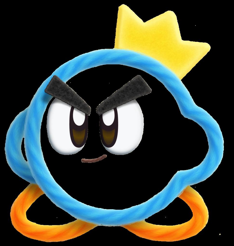Prince Fluff - Kirby's Extra Epic Yarn