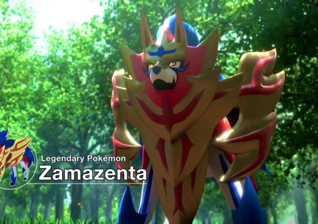 Pokemon Shield and Sword - Zamazenta